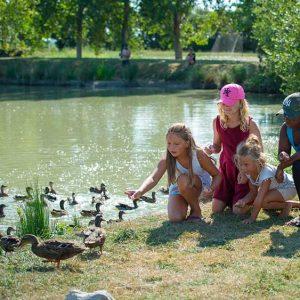 club enfants avec les canards