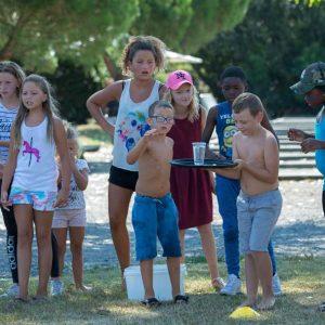 Jeux d'eau club enfants